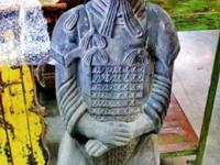 This amazing hand made terracotta warrior came from