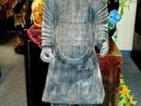 This replica terracotta warrior is made from Xian that