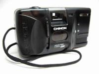 Chinon Auto GL Motorized-Focus Free 35mm Film Camera