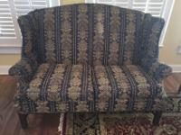 Chippendale style love seat made by Johnston