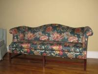 Like new Chippendale sofa. In mint condition Made by
