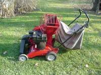 Chipper Shredder Vacuum - recently serviced - always