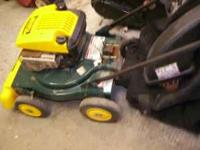 THIS IS A MTD YARD VACUUME AND A CHIPPER SHREDDER ALL