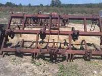 CHISEL PLOW IS FIELD READY AND IN GOOD CONDITION,