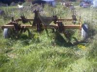 7 Shank Landoll Chisel Plow with shovel points. Like