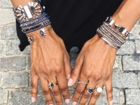 Exclusive Chloe+Isabel necklaces, bracelets, rings,
