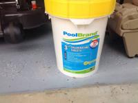 Chlorine Tablets, 3 inch , 40 Lbs. Pool Brand New,
