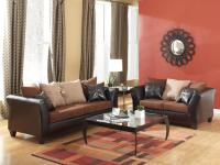 Chocolate Sofa & Loveseat Only $495!   Made right