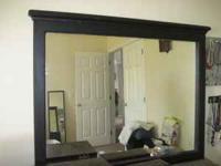 This mirror can be used in a bedroom, bathroom ,