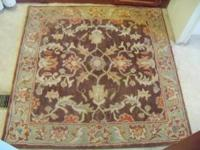 Only had this rug for a couple of weeks. Very nice rug,