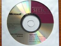 These Microsoft CDs are in like new condition. No