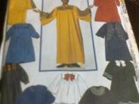 CHOIR ROBE PATTERN SIZE XS, S, M, L, XL $3.00 CALL  NO