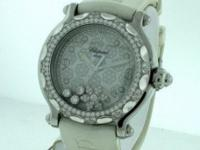 Previously owned Chopard Happy Sport Snow Flake Ladies,