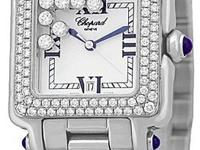 "Lady's Midsize Stainless Steel Chopard ""Happy Sport"""
