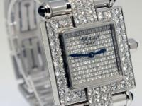Chopard Imperiale Ladies 18k White Gold Diamond &
