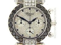 Chopard Ladies 18k white gold Imperiale Chronograph,