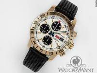 Features Chronograph Caseback 18k Rose Gold solid