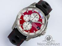 Features Chronograph Caseback see through sapphire