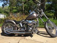 2002 Custom Chrome Hardcore Chopper, built by Eagle