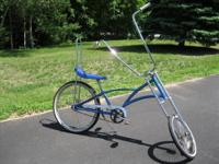 Selling two dreamy bikes ! One is a blue chopper,