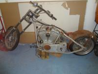 I have a Chopper project with a Harley Davidson Evo