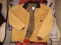 Berne Chore Coat, Heavy Quilt Lining, Size XL Regular.