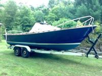 Opportunity to own a Classic Chris Craft 1964 22' boat.