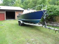 Boat is good condition, NO rot, all original parts.