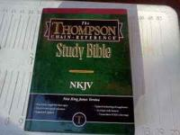 New Thompson chain reference bible Old Workbook style