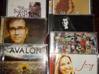I have a Lot of 9 Christian Music CDs for sale at just