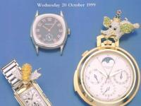 "Christie's New York ""Important Watches and"
