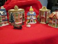 Christmas Village - never been used. I opened the bags