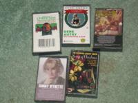 gene autry, norman luboft choir and more 5 tapes