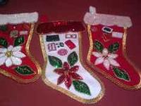 Hand made christmas decorations.....place your order
