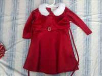 Dress - $10 - 18 month Babies 1st Christmas outfit -