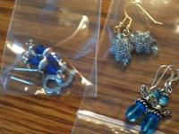 I have all sorts of earrings: Colts, Breast Cancer,