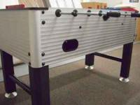 Beautiful Custom Foosball Table -- Top of the Line