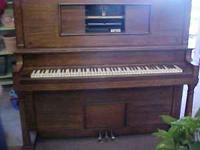 GREAT CHRISTMAS GIFT !!!!! L@@K !!! PLAYER PIANO - 1919