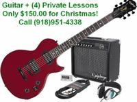 Description Get an instructor approved guitar and 4