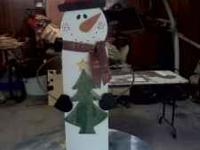 Custom hand made christmas trees and decor. We can make