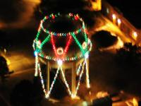 Get a Reindeer's-eye view of the Christmas lights this