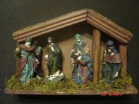 I have three Nativity sets. All three have the figures