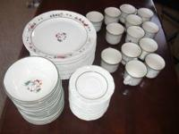 For Sale Set of 56 Christmas plates,bowls,coffee cups