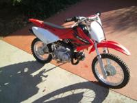 Really low time 2004 CRF80. Perfect for new rider. Will