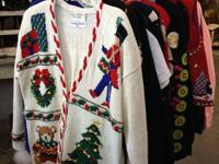 Christmas Sweaters, Sweatshirts and Vest Sweaters $25