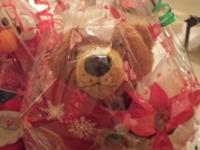 Christmas stuff animal gift bags For your occasion