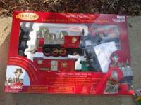 Christmas Train for sale. Used one year. Retailed at
