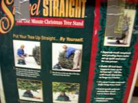 "Swivel Straight ""The One Minute Xmas Tree Stand"".  * 10"