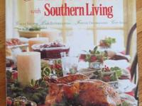 HARD COVER BOOK, CHRISTMAS WITH SOUTHERN LIVING.  GREAT