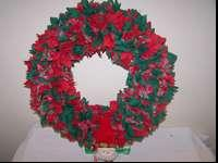 A really great Christmas wreath for only $2. It